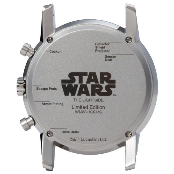 "wena wrist pro Chronograph Silver set /STAR WARS limited edition ""THE LIGHT SIDE""|firstflight|03"