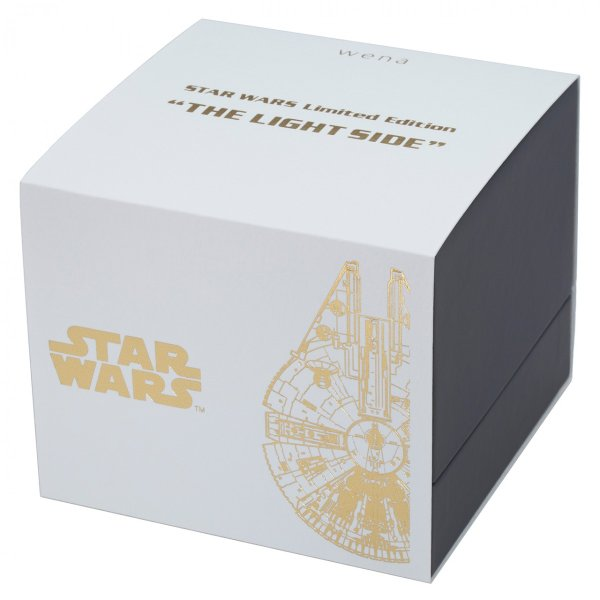 "wena wrist pro Chronograph Silver set /STAR WARS limited edition ""THE LIGHT SIDE""|firstflight|05"
