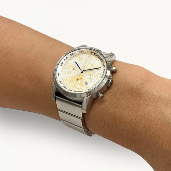"wena wrist pro Chronograph Silver set /STAR WARS limited edition ""THE LIGHT SIDE""|firstflight|10"