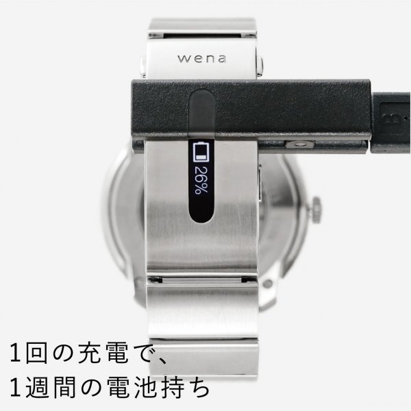seiko wena wrist pro Mechanical head set Premium Black -LOWERCASE Edition-|firstflight|12