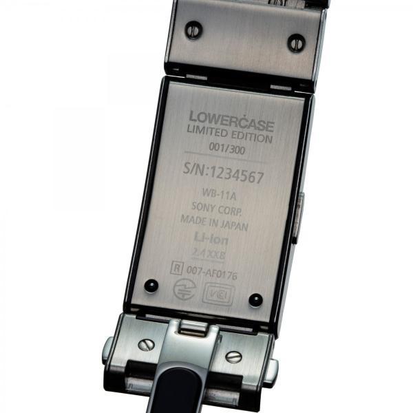 seiko wena wrist pro Mechanical head set Premium Black -LOWERCASE Edition-|firstflight|05