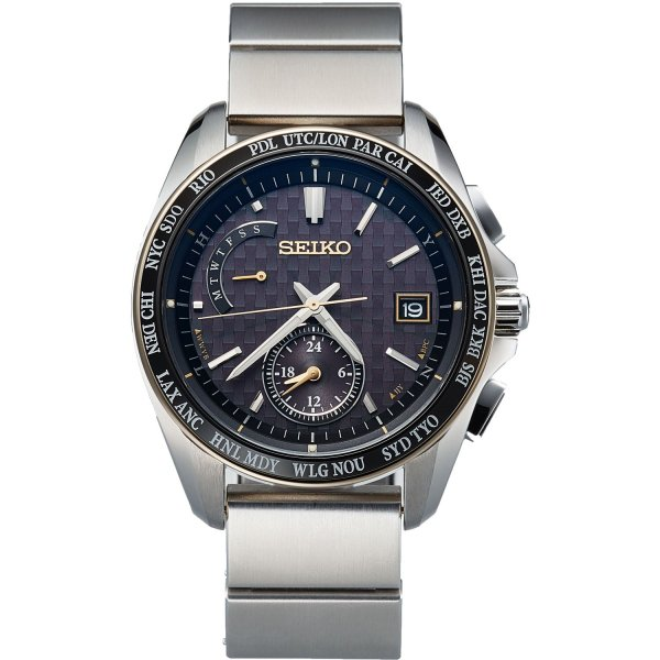 Seiko Brightz wena wrist pro Solar Radio-controlled set Silver -20th Anniversary Special Edition-|firstflight