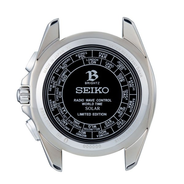 Seiko Brightz wena wrist pro Solar Radio-controlled set Silver -20th Anniversary Special Edition-|firstflight|03