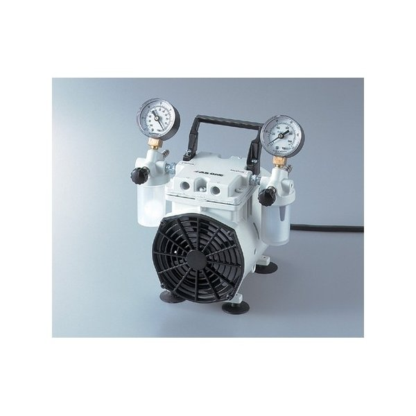 アズワン 研究用マルチエアーポンプ 吸排両用型 1台 [1-5827-01]