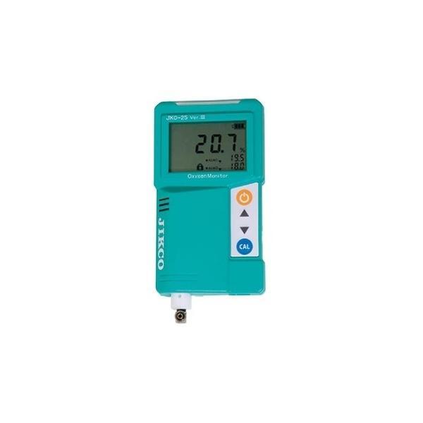 アズワン 酸素濃度計 JKO-25Ver3 校正証明書付 1個 [61-4669-32-20]