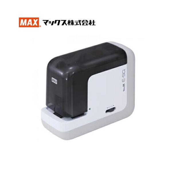 マックス(MAX)Vaimo11E-SQ 電動ホッチキス BH-11F/AC アダプタ付き(EH90046)