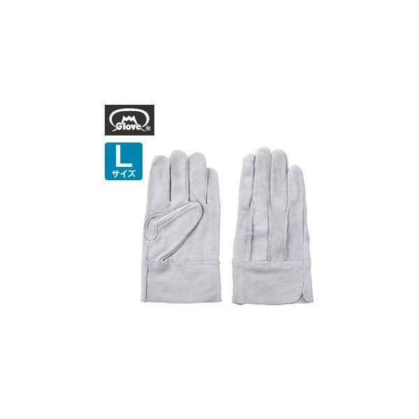 富士グローブ 革手袋 皮手袋 牛床皮 背縫い EX-600 Lサイズ[1716] 1双 :FG0026