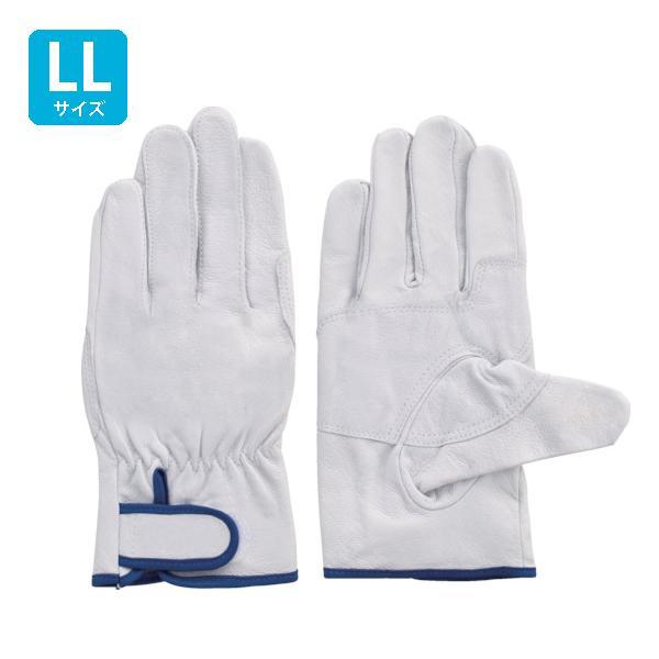 富士グローブ 革手袋 皮手袋 豚皮レインジャー型 アテ付 EX-233 LLサイズ[5966] 1箱120双セット :FG6602