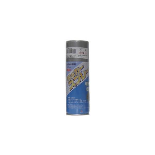 【スプレー】 ラッカースプレー (シルバー/銀色) 大箱/48本