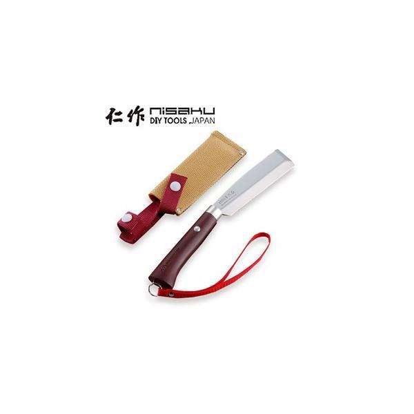 仁作(富田刃物) ステンレス製 花ナタ No.4110 110×240mm