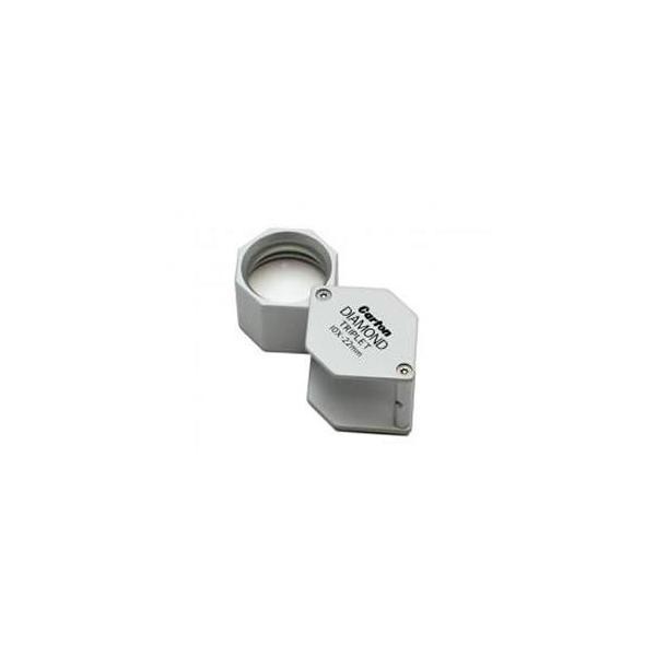 カートン光学(Carton) R7529 宝石鑑定用ルーペ TRIPLET 10倍 レンズ:22mm 【在庫有り】