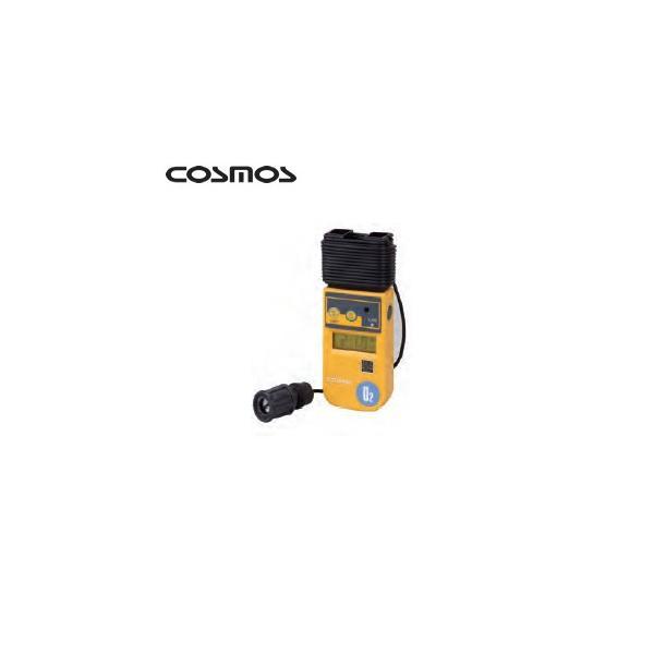 新コスモス デジタル酸素濃度計 XO-326IISA 校正書類一式付 コード長5m(本体巻取式)