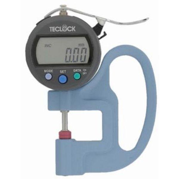 テクロック SMD-540J 標準型デジタルシックネスゲージ 最小表示量0.01mm 測定範囲12mm