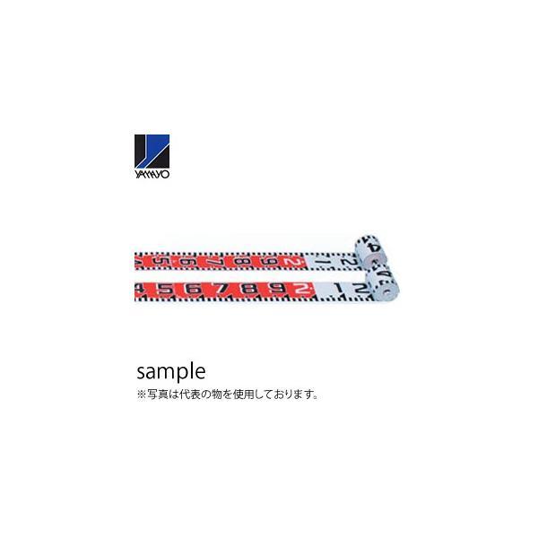 ヤマヨ測定器 リボンロッド両サイド100-E1 R10A50 50m 遠距離用現場記録写真用巻尺