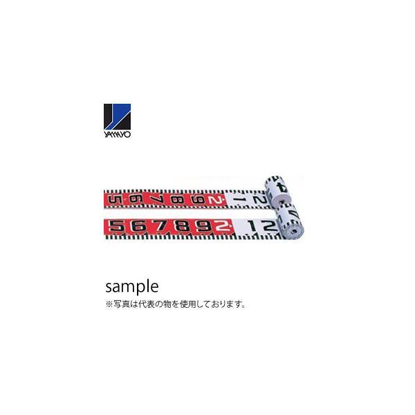 ヤマヨ測定器 リボンロッド両サイド150E1 R15A20 20m 遠距離用現場記録写真用巻尺