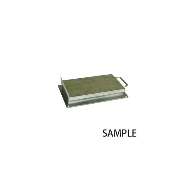 カネテック 鉄粉除去用カバー付プレートマグネット KPMF-C1545