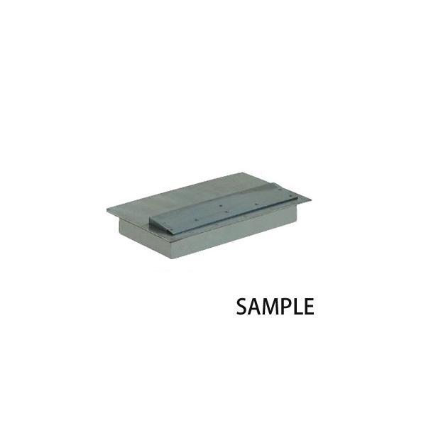 カネテック 標準型磁極板付 プレートマグネット KPMT-2040