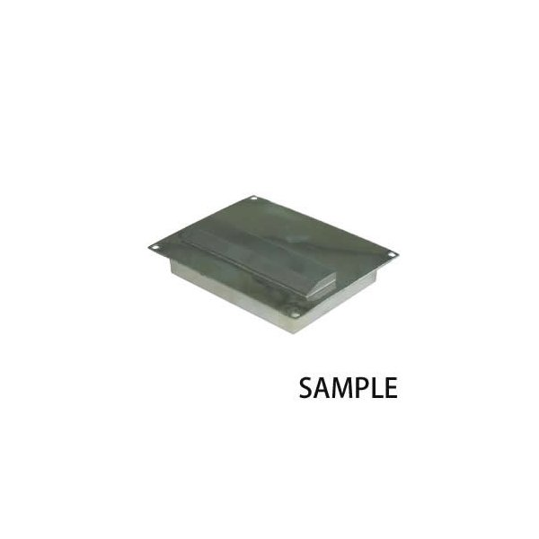 カネテック サニタリープレートマグネット 高磁力テンプレート付 タイプ PCMN-T1225