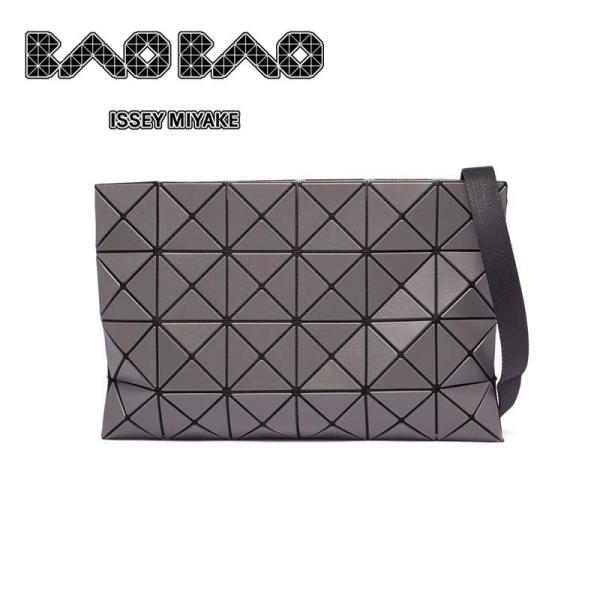 バオバオ イッセイミヤケ BAOBAO ISSEY MIYAKE LUCENT MATTE CROSSBODY BAG クロスボディバッグ BB88AG684-14/CHCOALAR