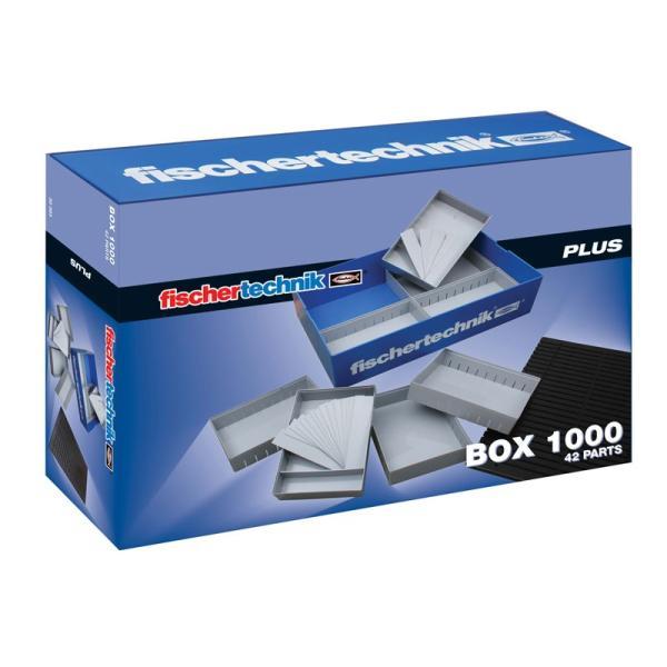 フィッシャーテクニック プラス BOX1000|fischertechnik-edu