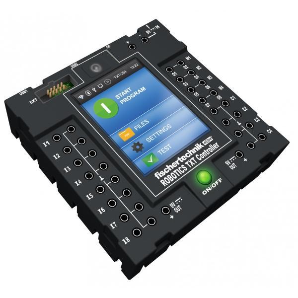 フィッシャーテクニック TXTコントローラー・スターターセット ROBOTICS TXT Controller Starter Set|fischertechnik-edu|06