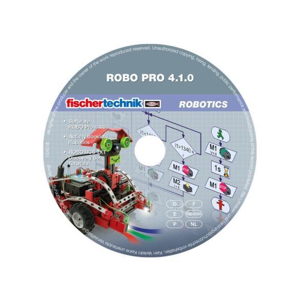 フィッシャーテクニック TXTコントローラー・スターターセット ROBOTICS TXT Controller Starter Set|fischertechnik-edu|08