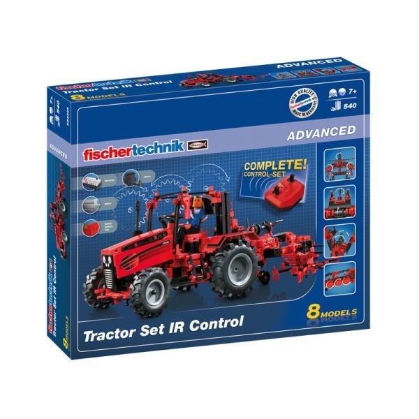 フィッシャーテクニック トラクターIRコントロール セット Tractor Set IR Control|fischertechnik-edu