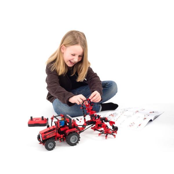 フィッシャーテクニック トラクターIRコントロール セット Tractor Set IR Control|fischertechnik-edu|08