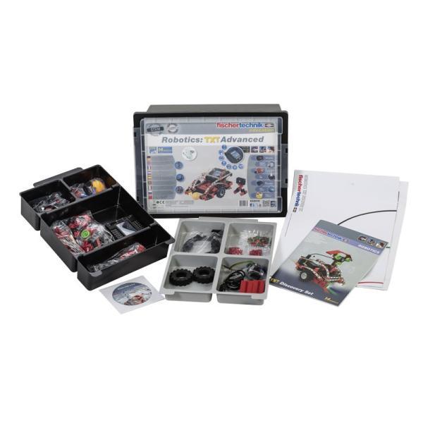 フィッシャーテクニック ロボティクス TXTアドバンス バッテリーセット付属 Robotics: TXT Advanced with Battery Set|fischertechnik-edu|03