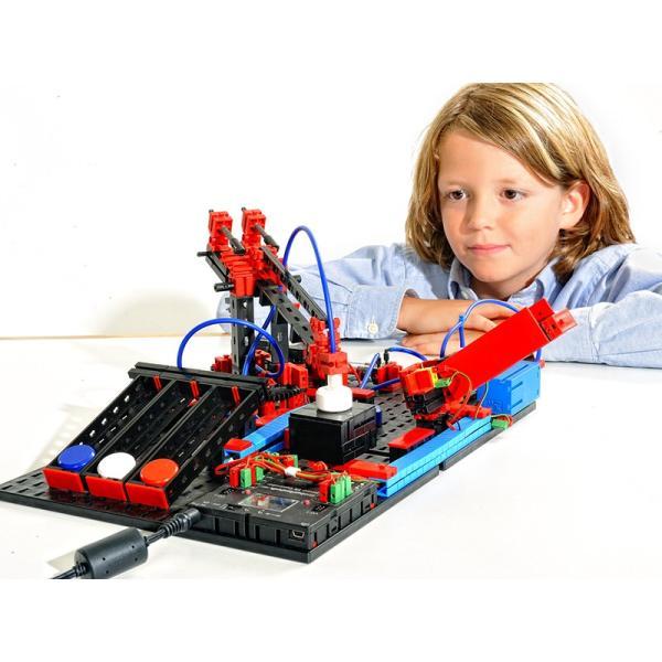 フィッシャーテクニック ロボティクス エレクトロ&ニューマチック CPUと電源は付属しません Robotics Electro & Pneumatics without CPU&Power|fischertechnik-edu|03