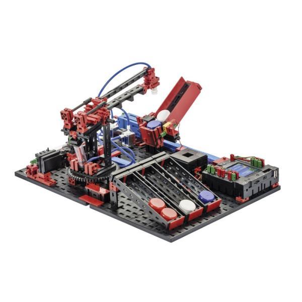 フィッシャーテクニック ロボティクス エレクトロ&ニューマチック CPUと電源は付属しません Robotics Electro & Pneumatics without CPU&Power|fischertechnik-edu|05