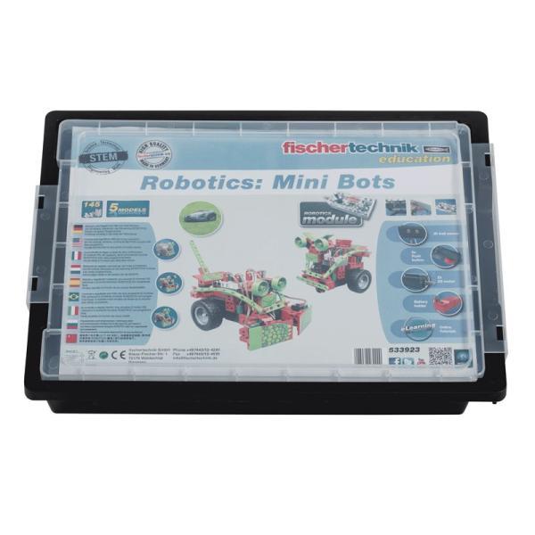 フィッシャーテクニック ロボティクス ミニボッツ Robotics: Mini Bots|fischertechnik-edu