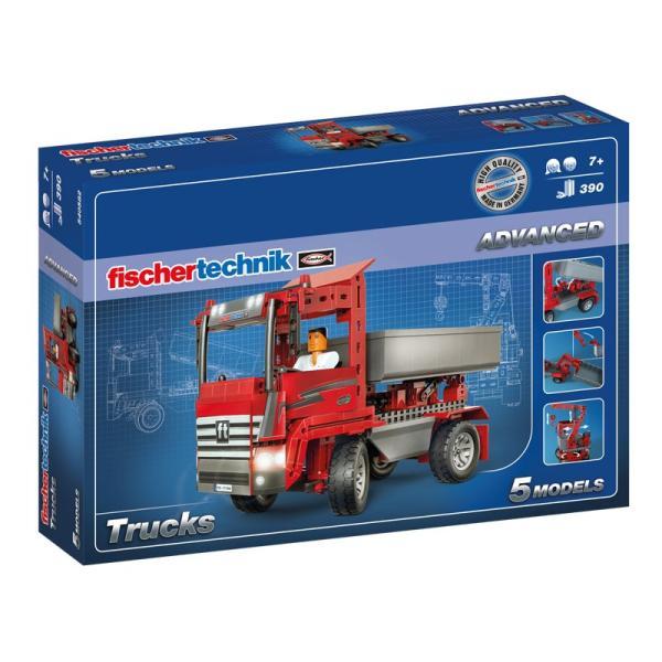 フィッシャーテクニック トラック Trucks|fischertechnik-edu