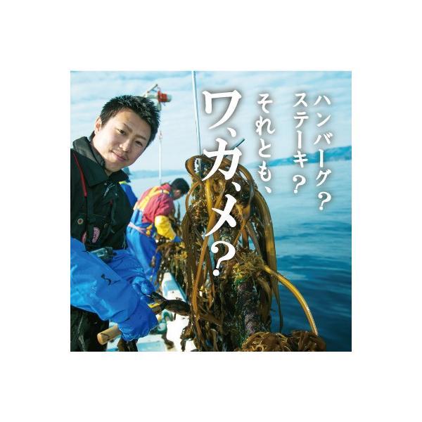 【生ワカメ】 三陸十三浜 丸ごといっぽん生わかめ|fishermanjapan|02