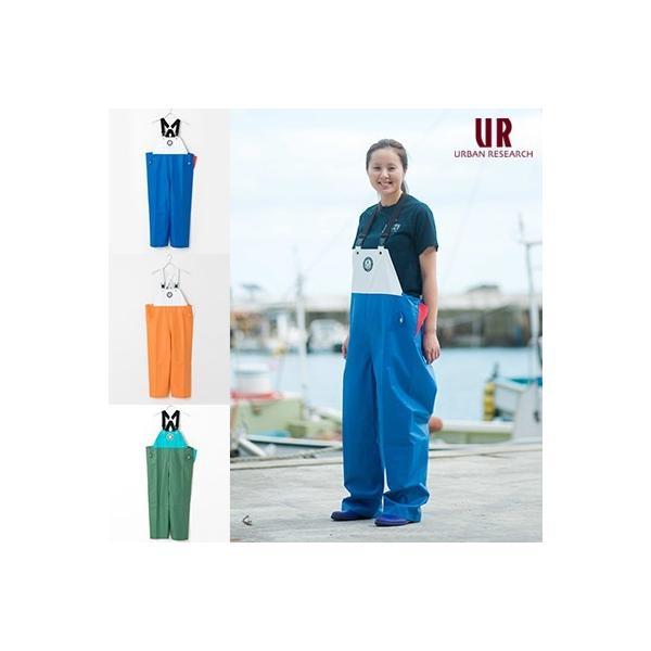 FISHERMAN JAPAN × URBAN RESEARCH サロペットパンツ/漁師ウェア/マリンウェア/漁師合羽/水産合羽|fishermanjapan|03