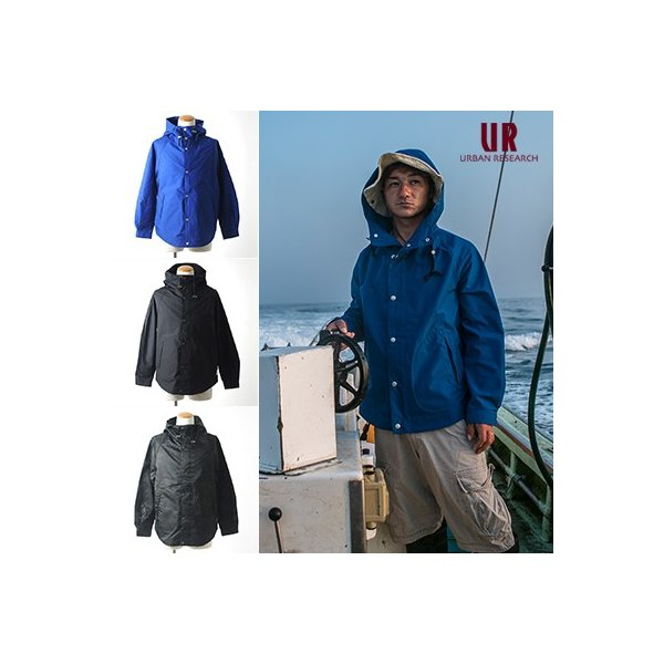 URBAN RESEARCH × FISHERMAN JAPAN シーパーカー/漁師ウェア/メンズ|fishermanjapan