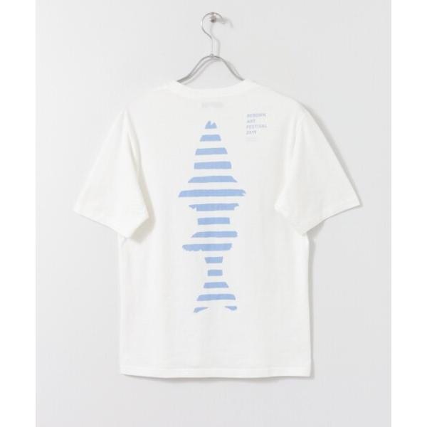 Reborn-Art Festival 2019 × URBAN RESEARCH × FISHERMAN JAPAN Tシャツ イノチノツナガリ|fishermanjapan|02