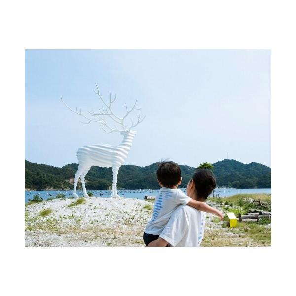 Reborn-Art Festival 2019 × URBAN RESEARCH × FISHERMAN JAPAN Tシャツ イノチノツナガリ キッズ fishermanjapan 17