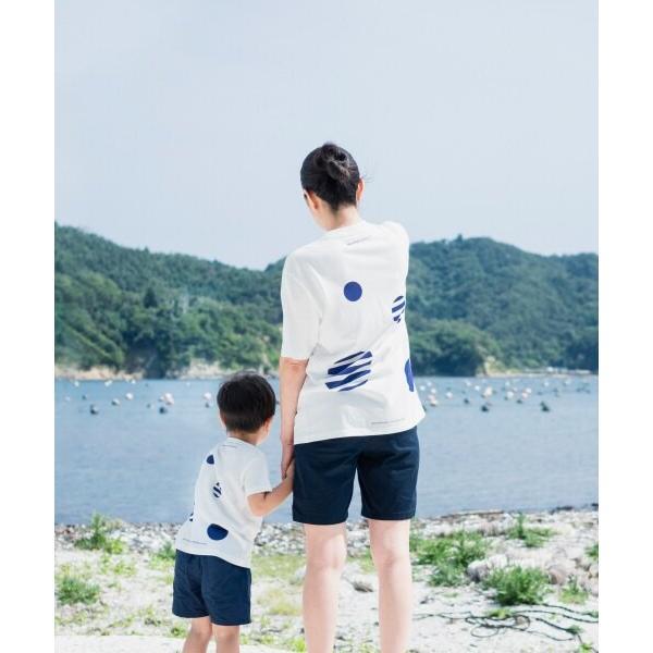 Reborn-Art Festival 2019 × URBAN RESEARCH × FISHERMAN JAPAN Tシャツ イノチノツナガリ キッズ fishermanjapan 18