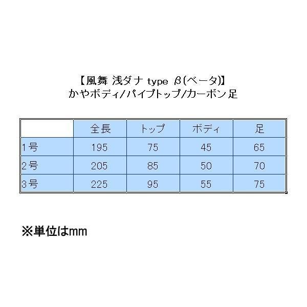 ダイシン へら浮き 風舞 浅ダナ type β (ベータ)(10105)