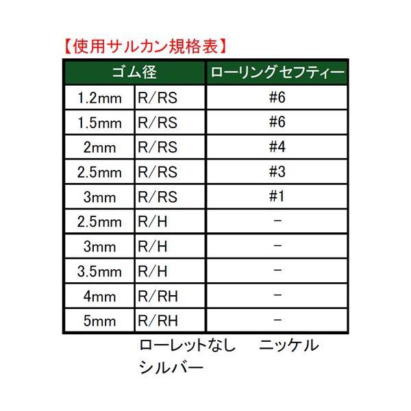 ヤマシタ ゴムヨリトリ R/H 3.5mm×2m (クッションゴム)