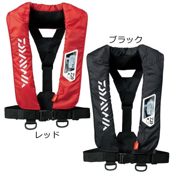 ダイワWライフジャケット(肩掛手動・自動)DF-2007(自動膨張式ライフジャケット国土交通省型式承認品小型船舶用救命胴衣TYP