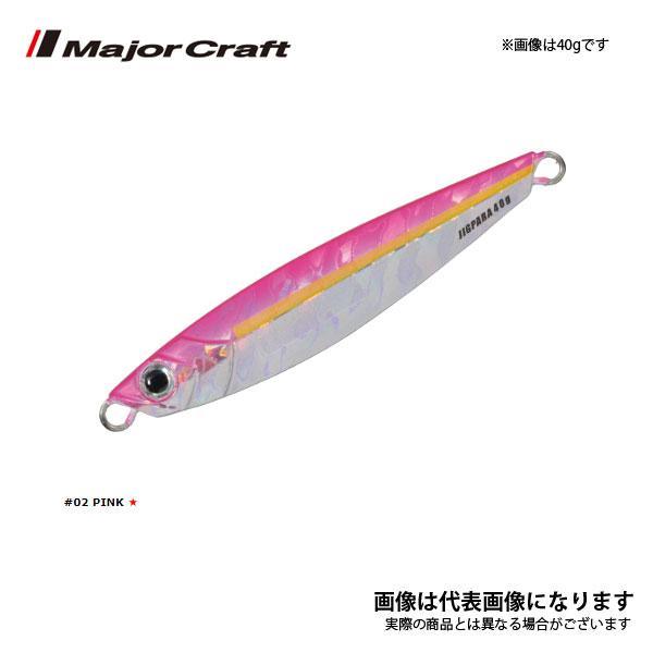 メジャークラフト ジグパラ [ Jigpara ] ショート 20g #02 ピンク