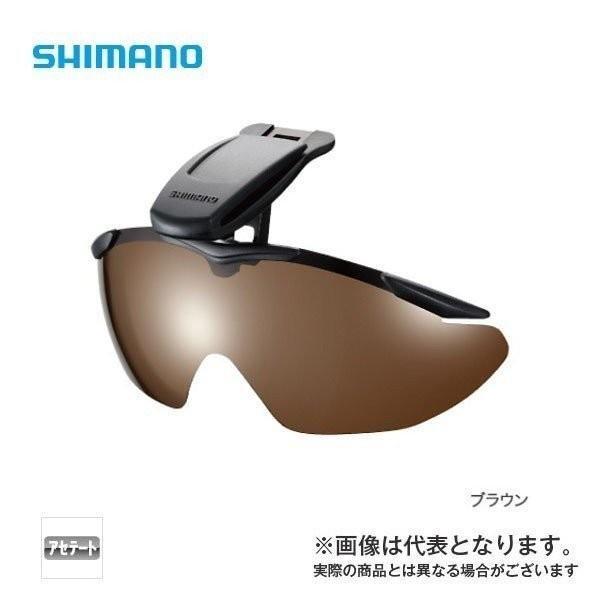 シマノ キャップクリップオングラス マットブラック スモーク HG-002N 偏光サングラス 釣り