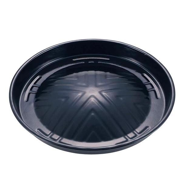 キャプテンスタッグ焼き名人ホーロージンギスカン鍋29cmM-6562バーベキュー鉄板BBQ焼きそばや焼き飯も キャンプ用品アウト