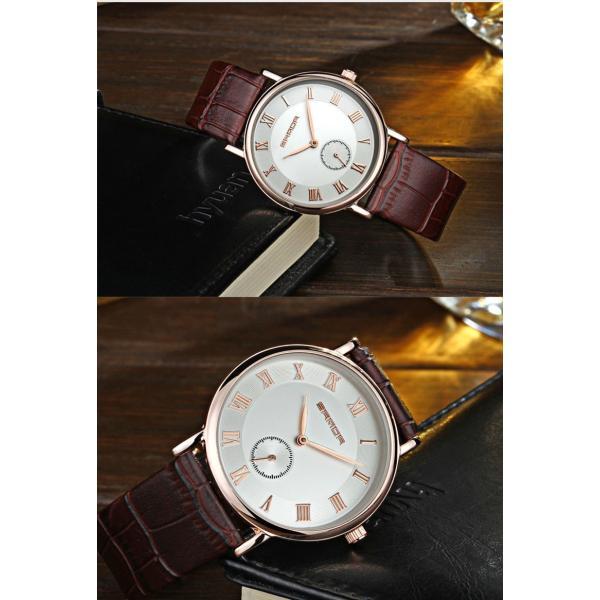 腕時計 メンズ ユニセックス ペア ウォッチ シンプル メタルバンド ビッグフェイス シルバー 防水 アクセサリー|fit-001|11