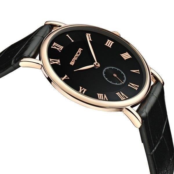腕時計 メンズ ユニセックス ペア ウォッチ シンプル メタルバンド ビッグフェイス シルバー 防水 アクセサリー|fit-001|03