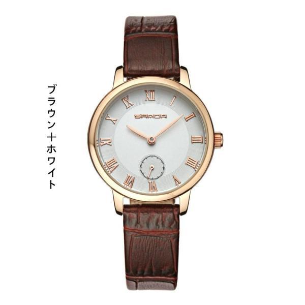 腕時計 メンズ ユニセックス ペア ウォッチ シンプル メタルバンド ビッグフェイス シルバー 防水 アクセサリー|fit-001|06