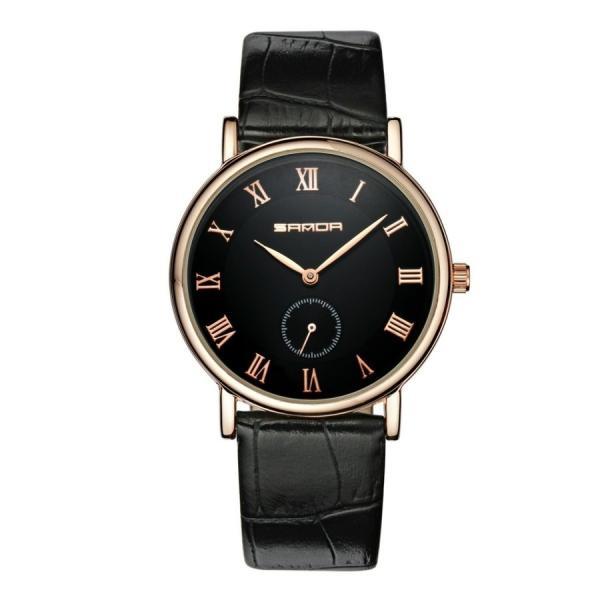 腕時計 メンズ ユニセックス ペア ウォッチ シンプル メタルバンド ビッグフェイス シルバー 防水 アクセサリー|fit-001|08