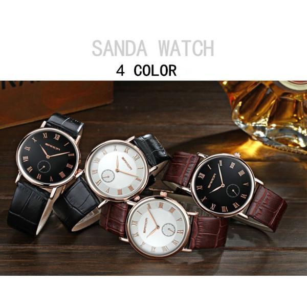 腕時計 メンズ ユニセックス ペア ウォッチ シンプル メタルバンド ビッグフェイス シルバー 防水 アクセサリー|fit-001|10